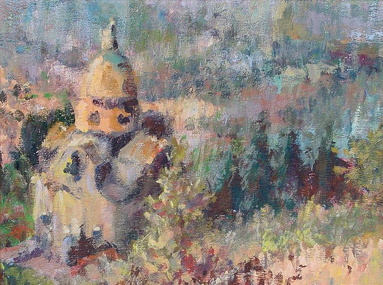 Painting of Chiesa di Santa Maria Nuova