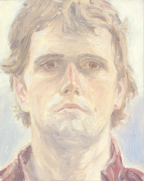 Painting of Self Portrait (Blah) by Philip Juras