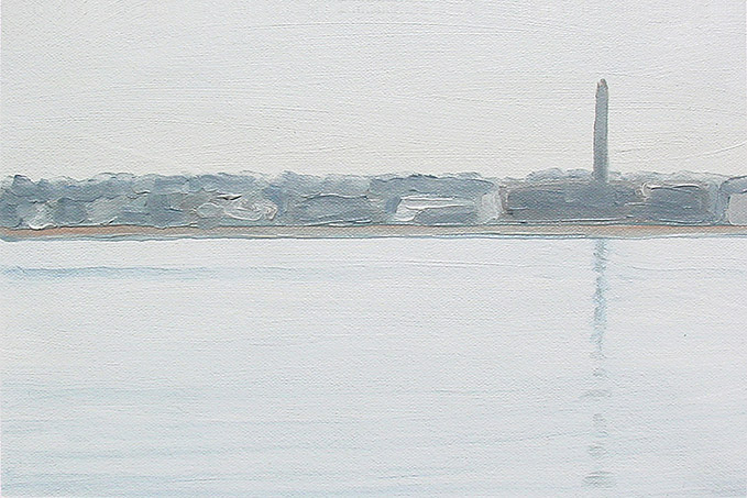 Painting of New Bedford Harbor 1