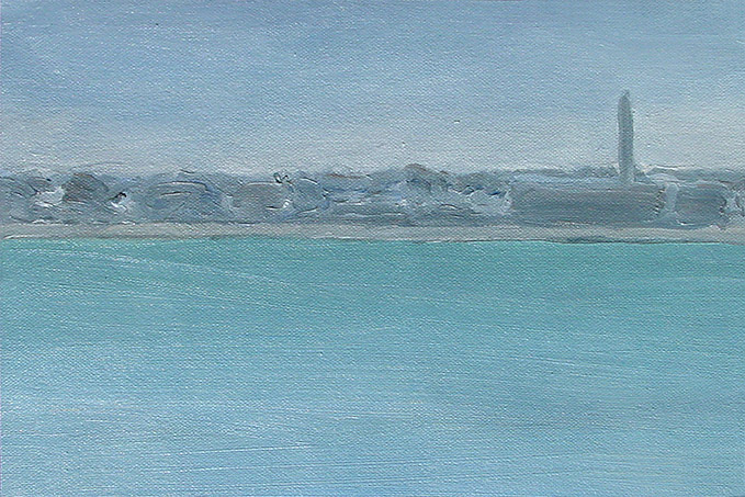 Painting of New Bedford Harbor 2