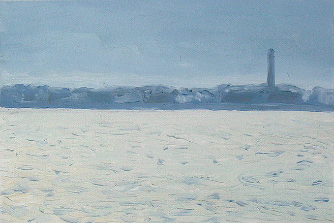Painting of New Bedford Harbor 5