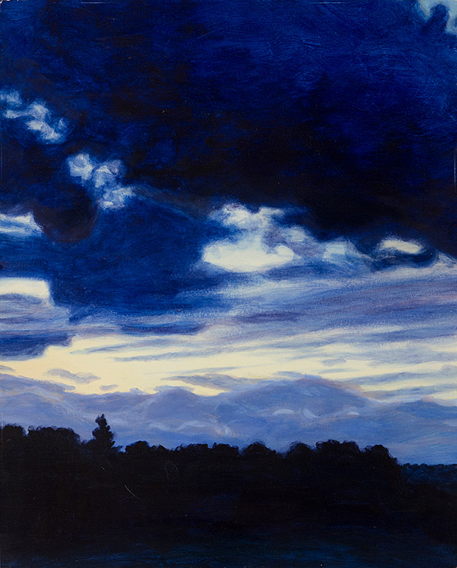 Painting of Sunset in Dartmouth