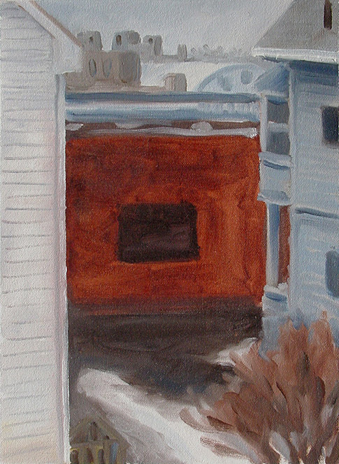 Painting of View from 9 Duval