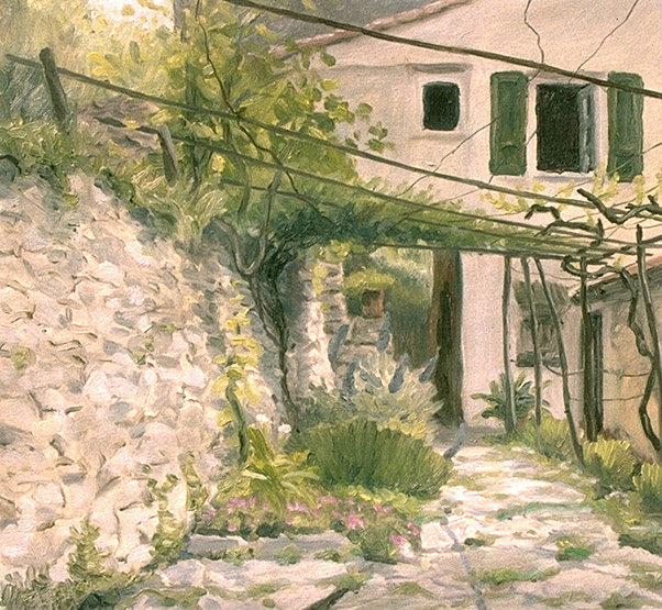 Painting of Angela's House