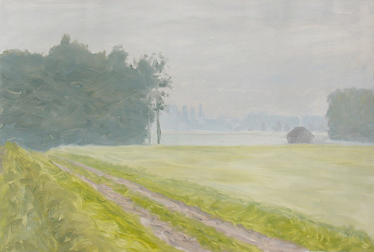 Painting of Seppenrade Fields