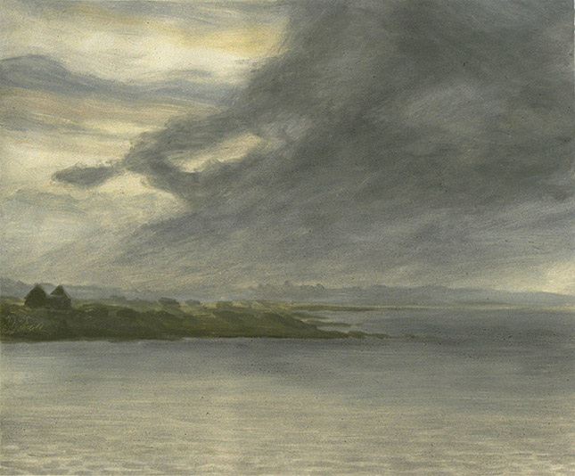 Painting of Gallway Bay