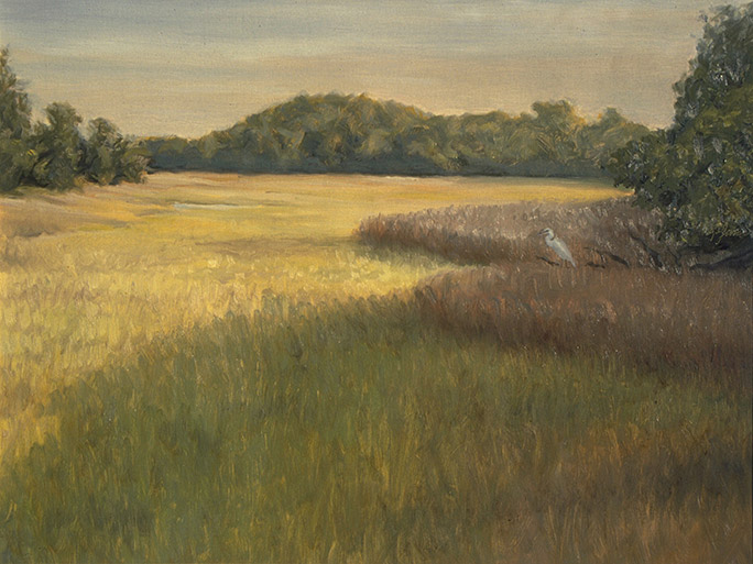 Painting of Edisto Marsh