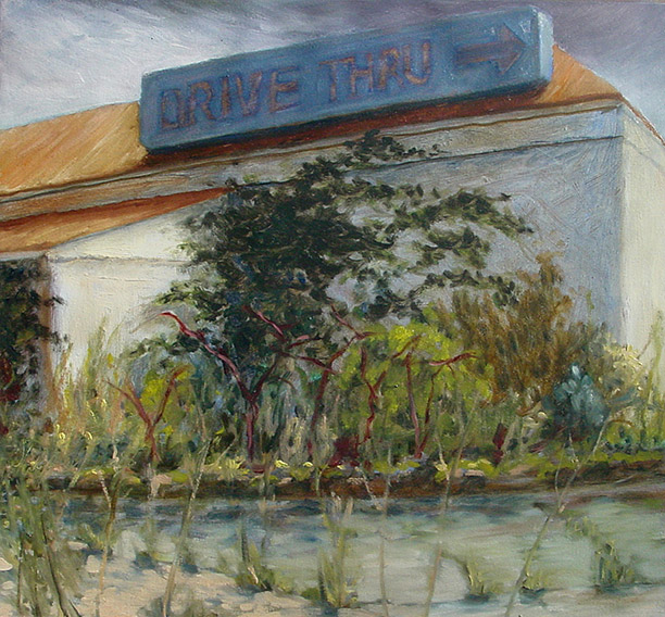 Painting of Drive Thru
