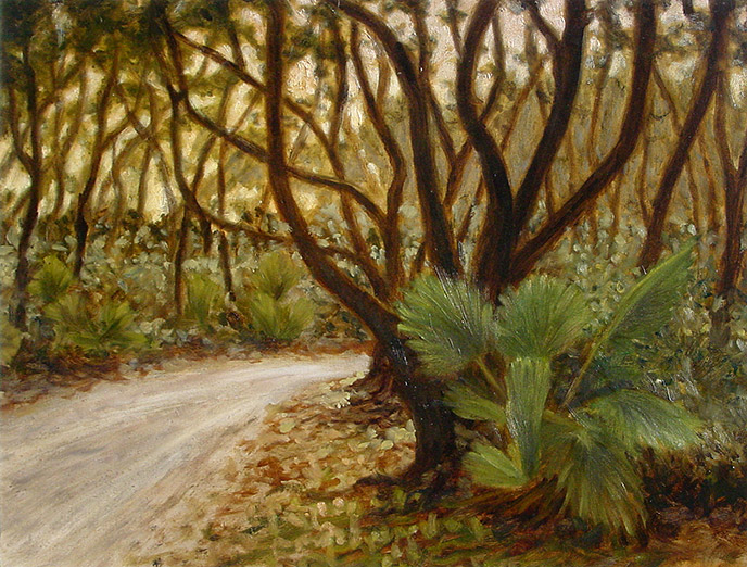 Painting of Maritime Forest