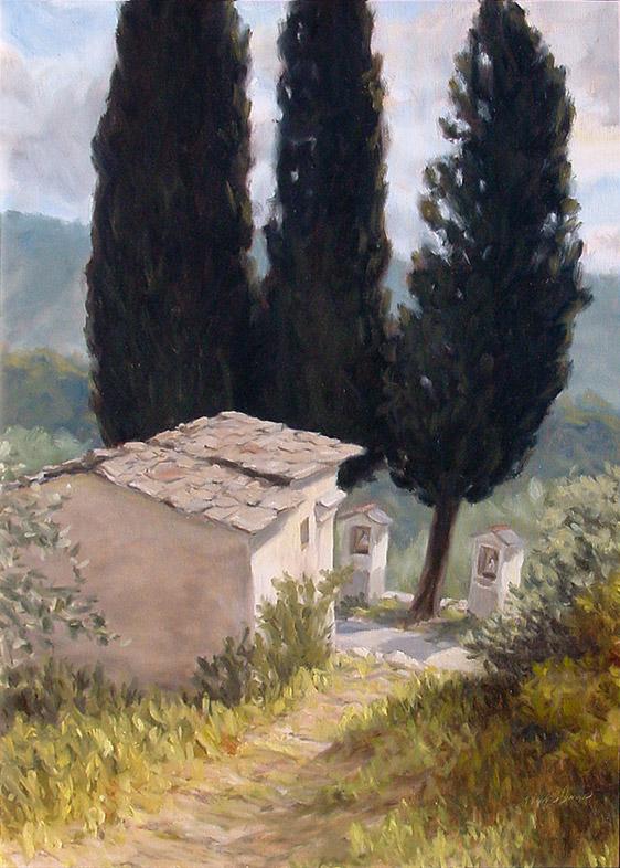Painting of Madonna dei Sette Dolori