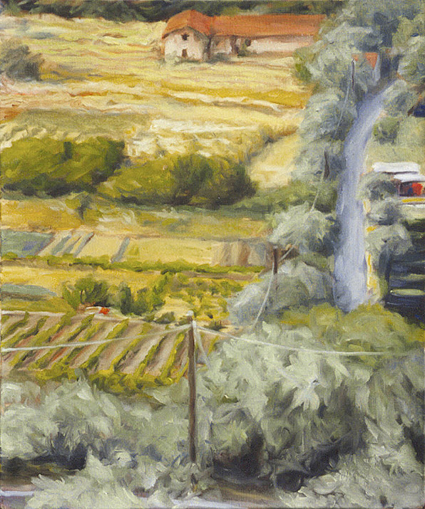 Painting of The Valley from the Window