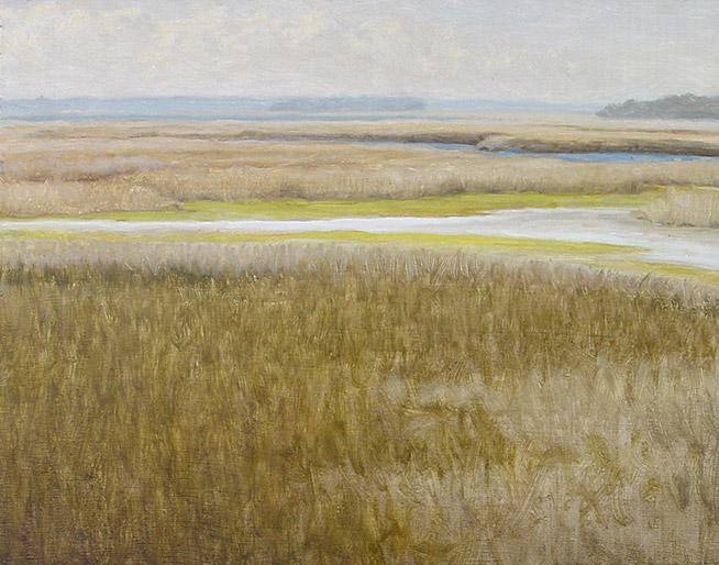 Painting of Gulf Coast Marsh 1