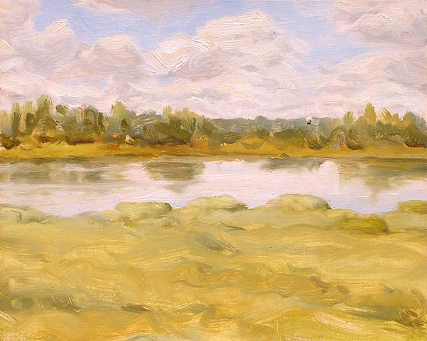 Painting of Chesser Prairie