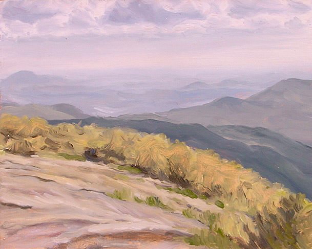 Painting of Blood Mountain