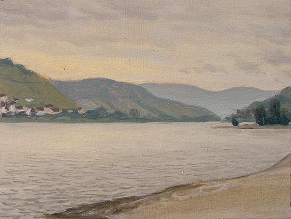 Painting of The Rhine