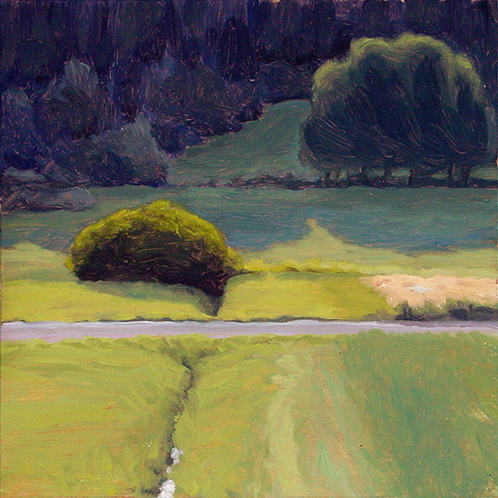 Painting of Field Shadows