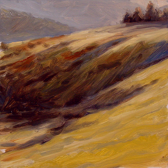 Painting of Laurel Fork Drainage #3
