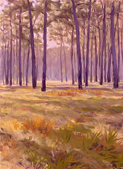 Painting of Greenwood Plantation