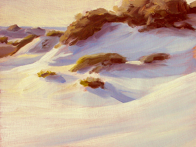 Painting of Gulf Dunes 2