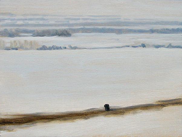Painting of Teton Valley 2