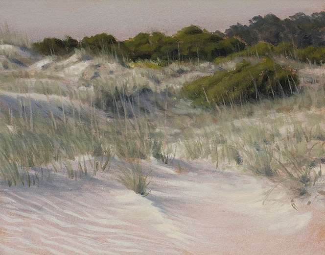 Painting of Hunting Island Dunes
