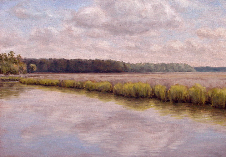 Painting of Chehaw River