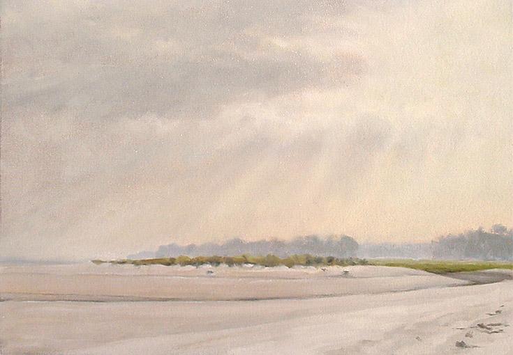 Painting of Bradley Beach