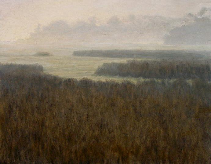 Painting of Marsh by Torrey Landing