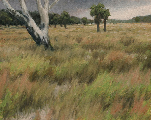 Painting of Old Cattlefield