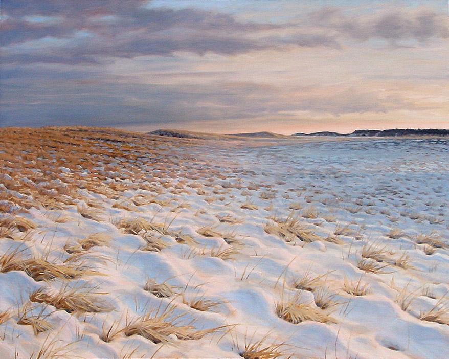 Painting of Nauset Beach