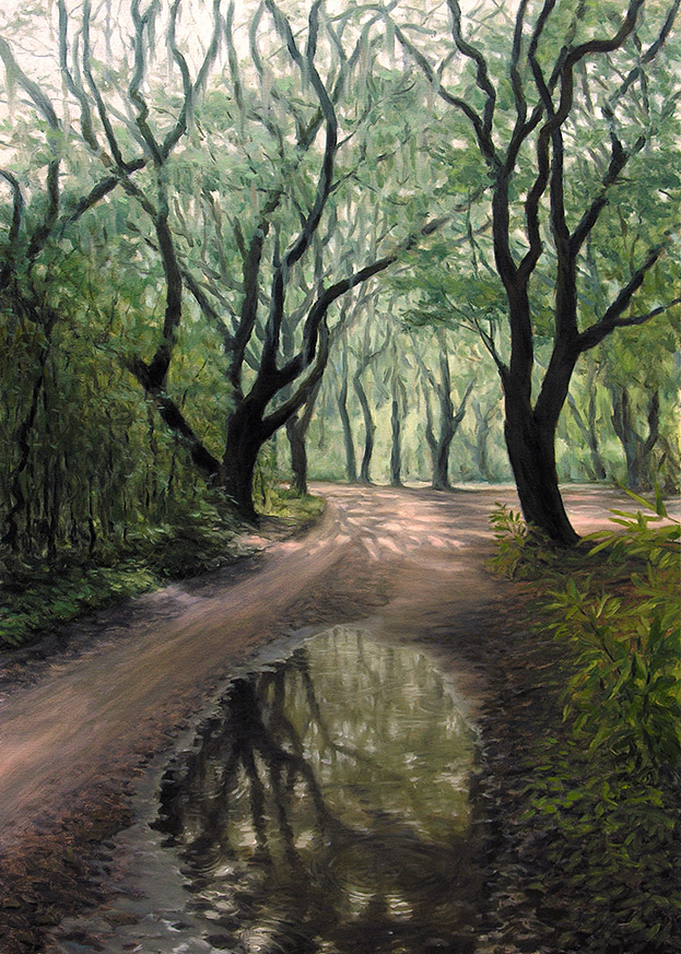 Painting of State Park Road