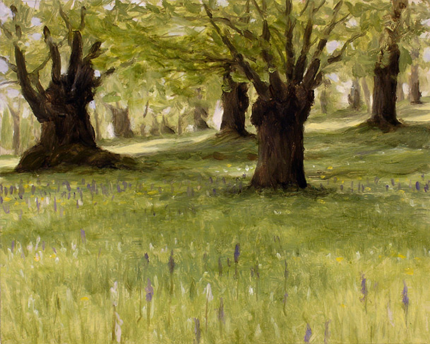 Painting of Ancient Chestnut Forest