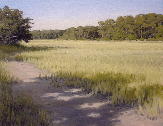 Painting of Late Afternoon Light