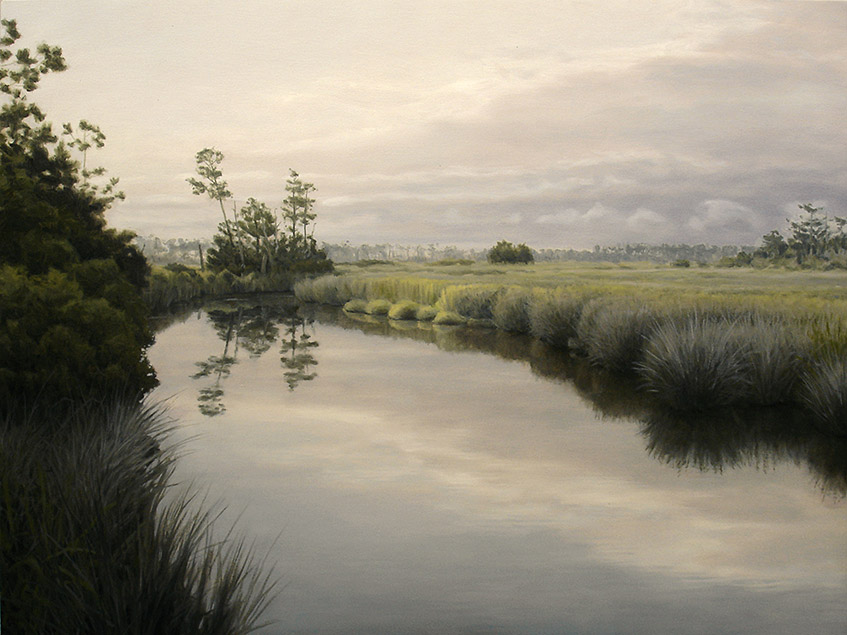 Painting of Kitty Creek
