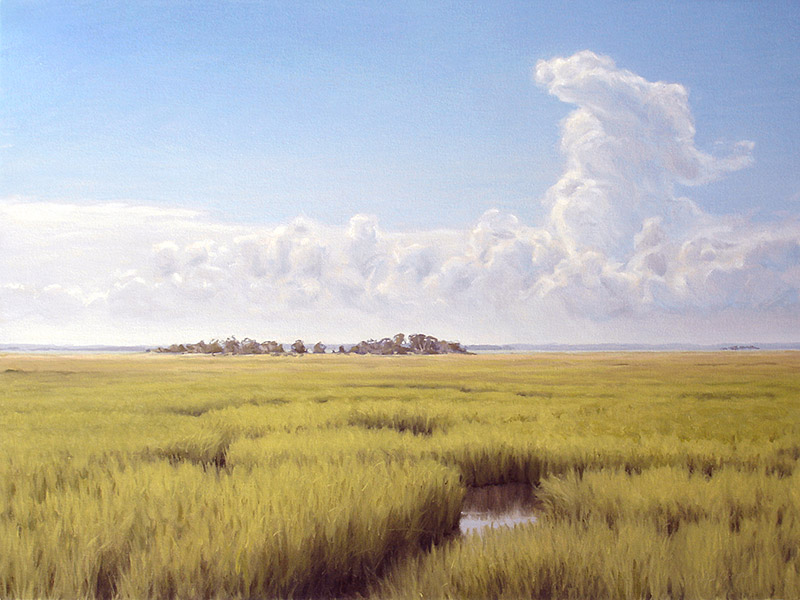Painting of View Toward the Mainland