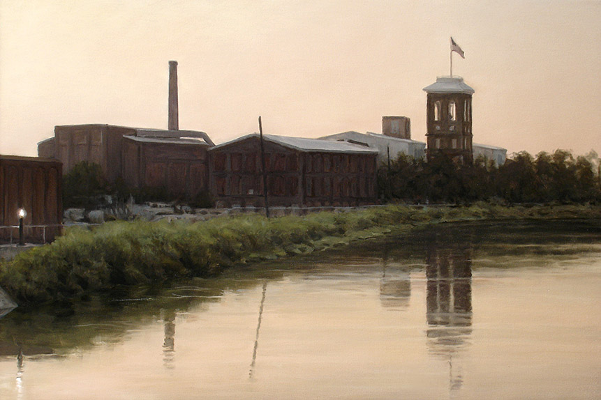 Painting of King Mill