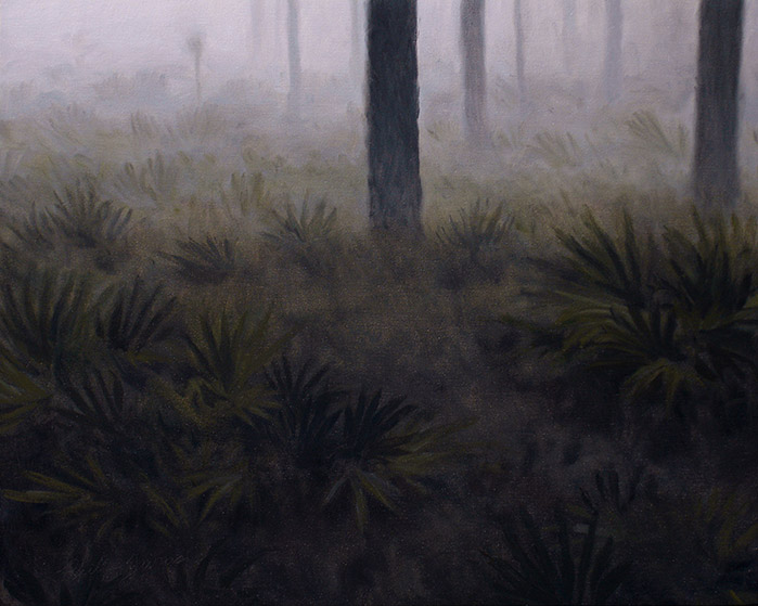 Painting of Morning Fog