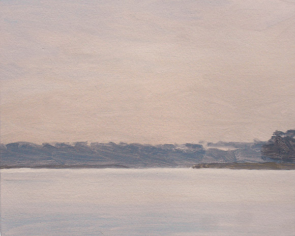 Painting of Ossabaw Sound 1