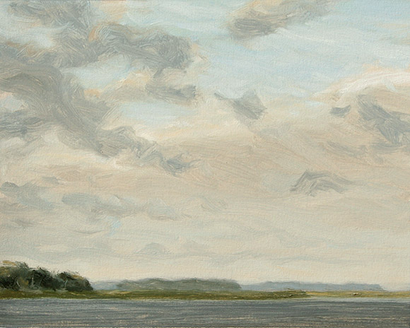 Painting of Ossabaw Sound 2