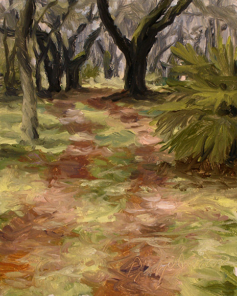Painting of Cabbage Patch Road