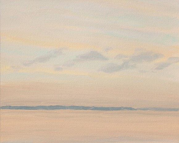 Painting of Ossabaw Sound 4