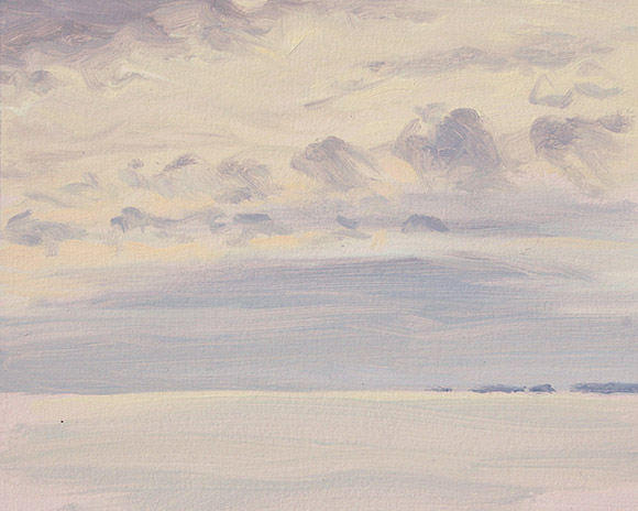 Painting of Ossabaw Sound 5