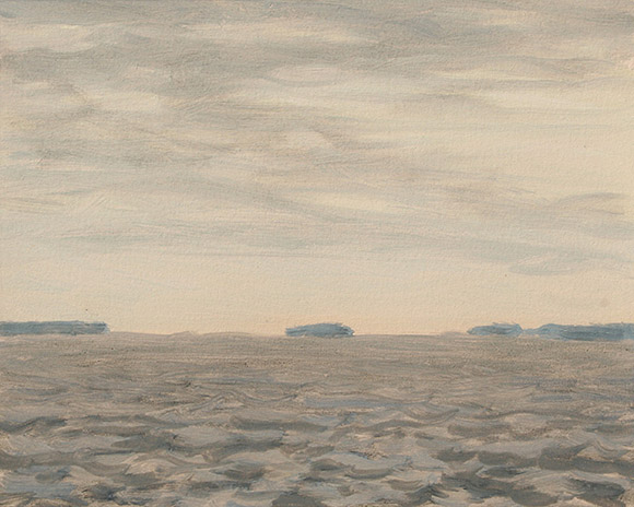 Painting of Ossabaw Sound 6