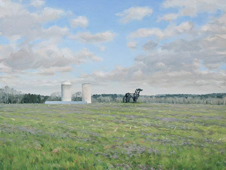 Painting of Iron Horse