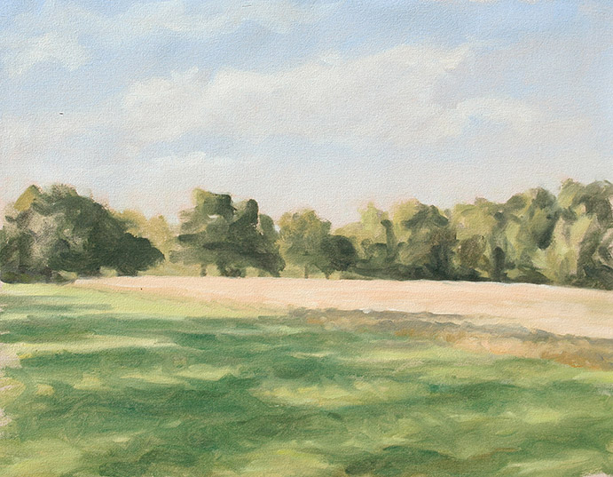 Painting of Field Study 1