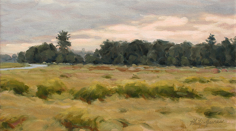 Painting of Morning Field