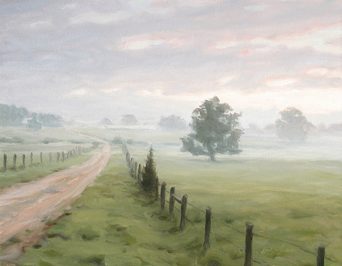 Painting of Wilkins Farm