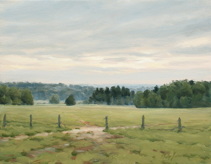 Painting of Pastures
