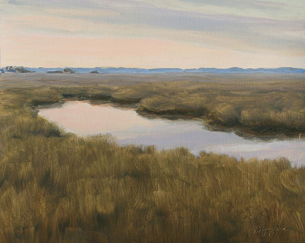 Painting of Broad River Marshes