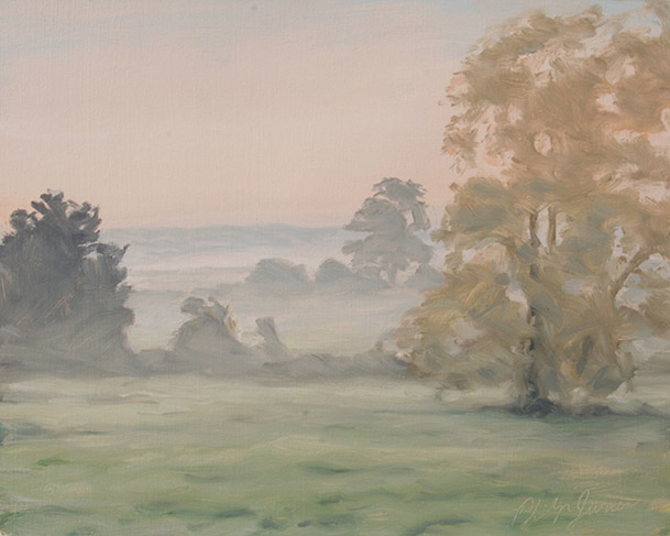 Painting of View from the Window